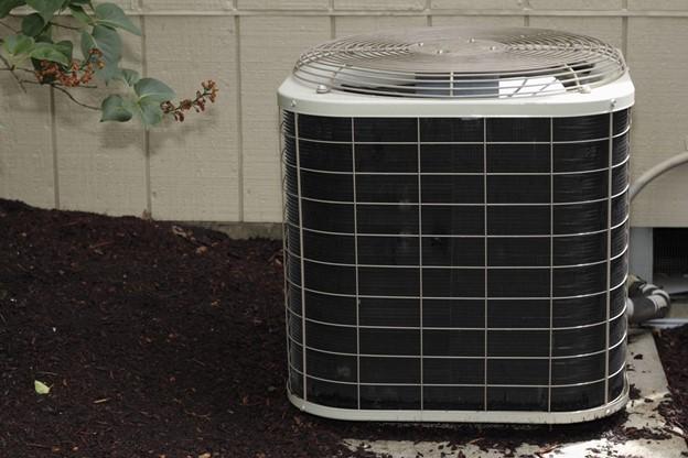 AC unit outdoors